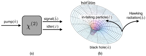 hawking radiation thesis Vacuum polarization and hawking radiation  as the cause of the emission from black holes known as hawking radiation in this thesis we try to obtain the hawking.
